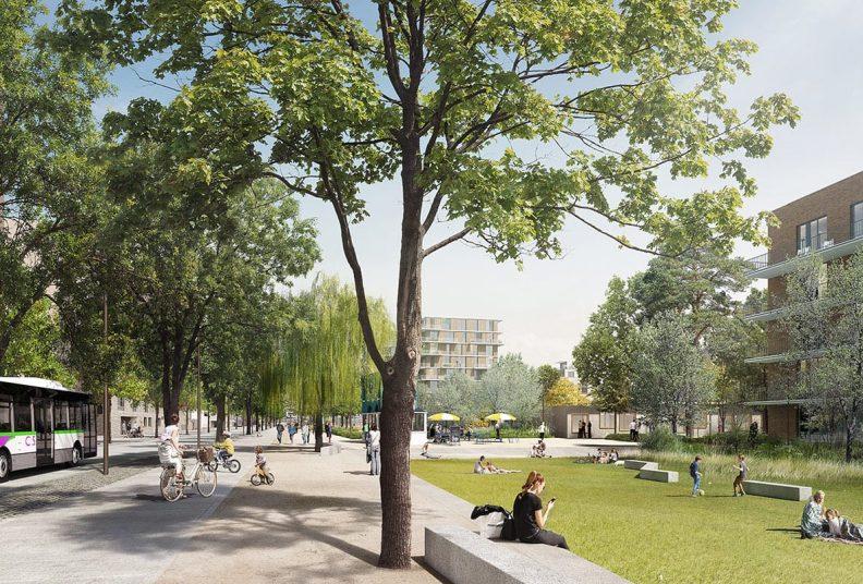 Habitat participatif Nantes, programme immobilier Senior République