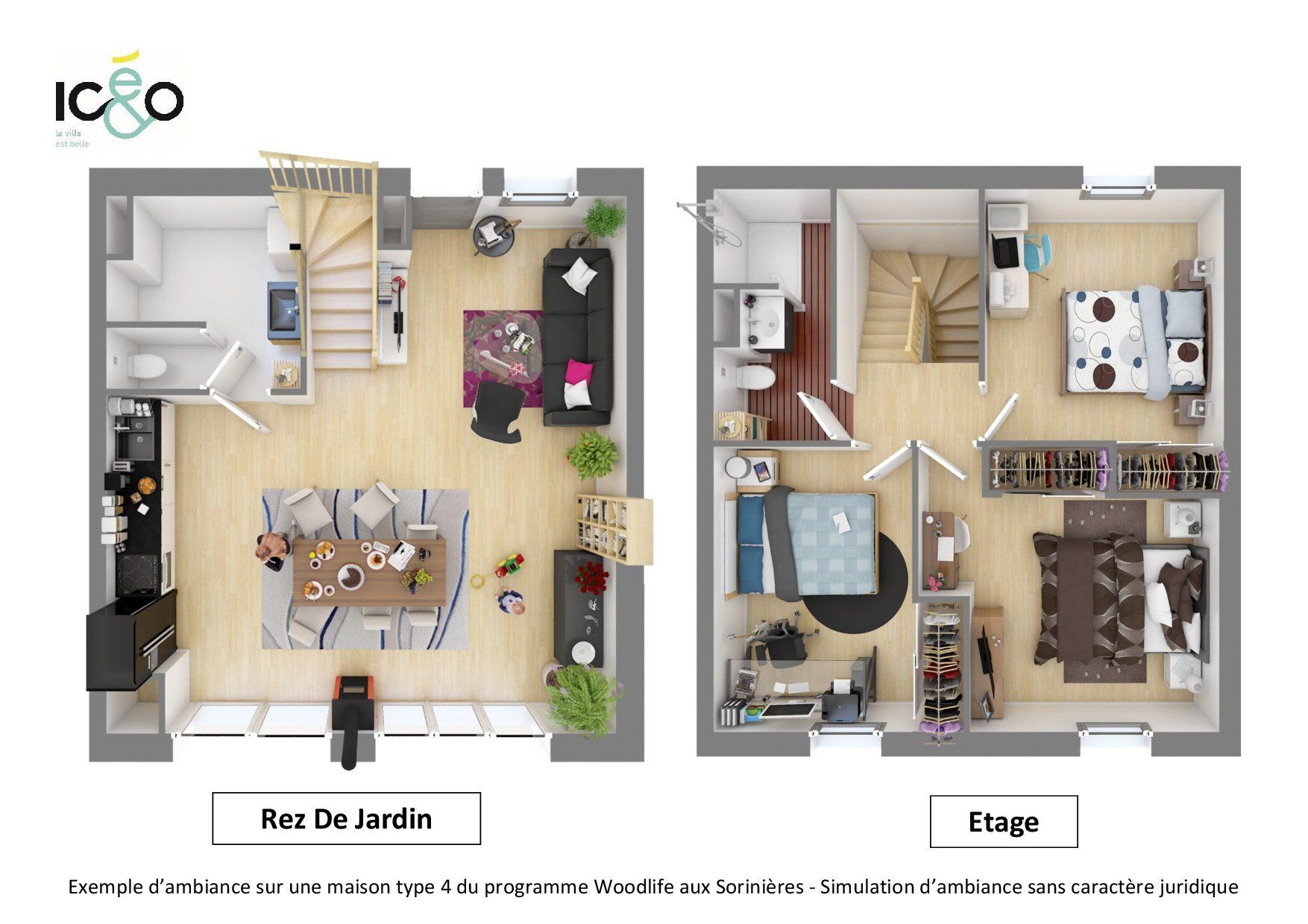 Ic O I Woodlife Appartements Et Maisons A Prix Maitrise Les Sorinieres