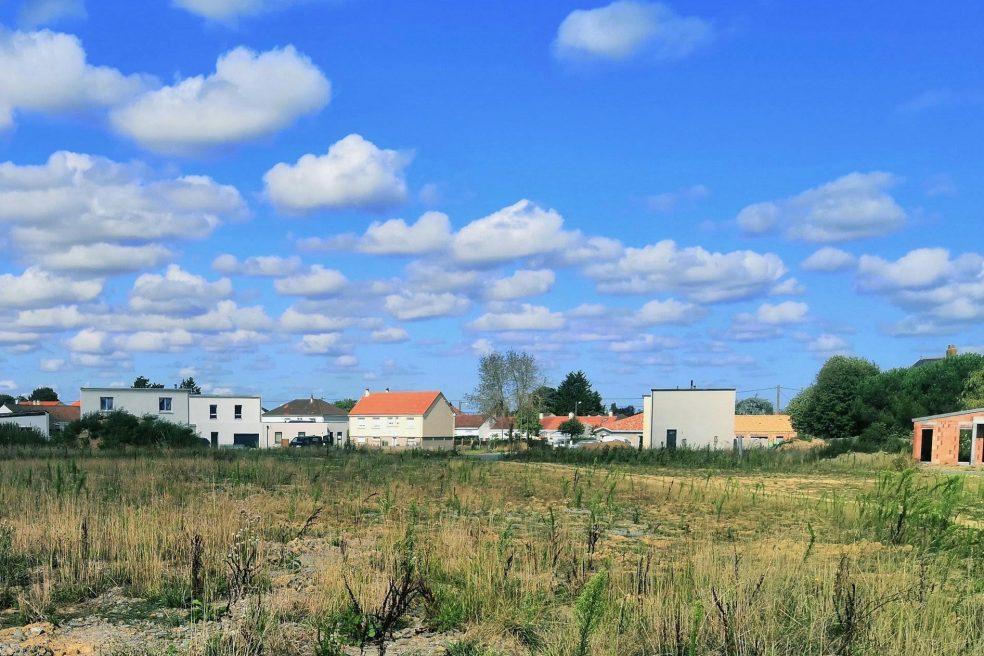 Programme immobilier Nantes - Woodlife - terrain.