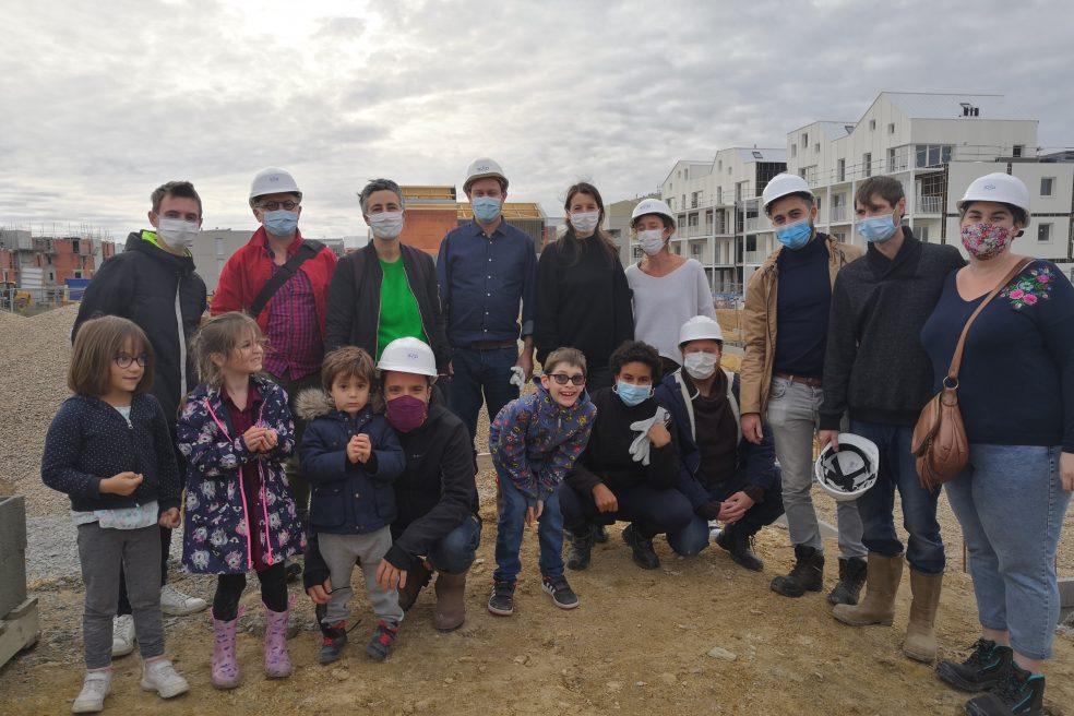 Lancement des travaux habitat participatif Jaguere